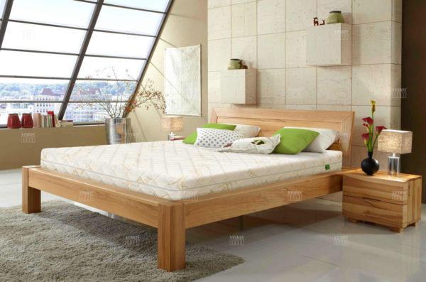 Матрас Vegas Comfort в интерьере спальни.