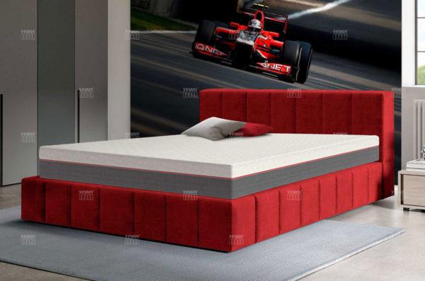 Матрас Vegas Active в интерьере спальни.