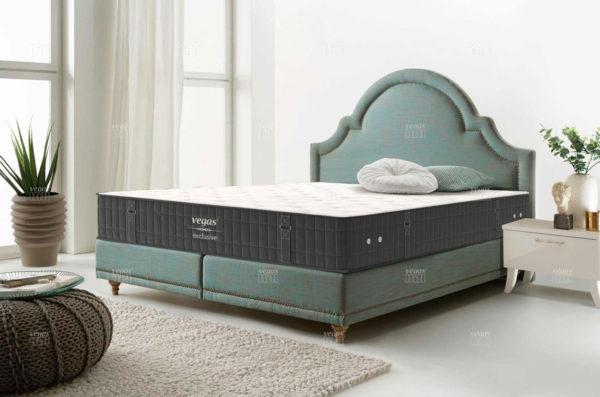 Матрас Vegas Exclusive в интерьере спальни.