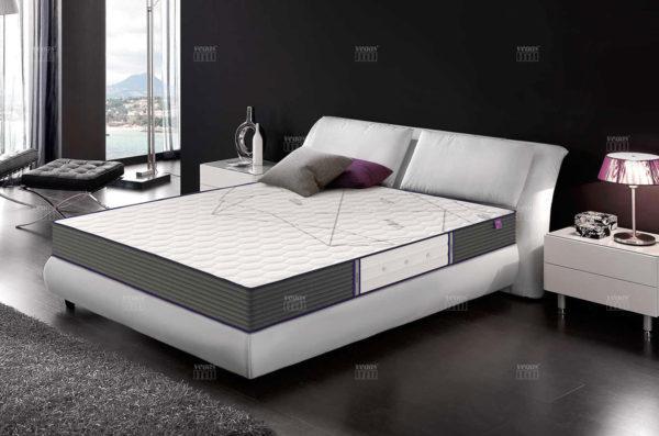 Матрас Vegas Modern в интерьере спальни.
